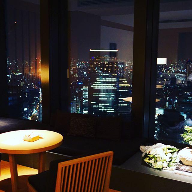 アマン東京夜の客室
