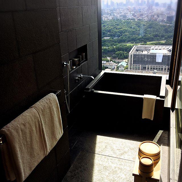 アマンホテル 浴室