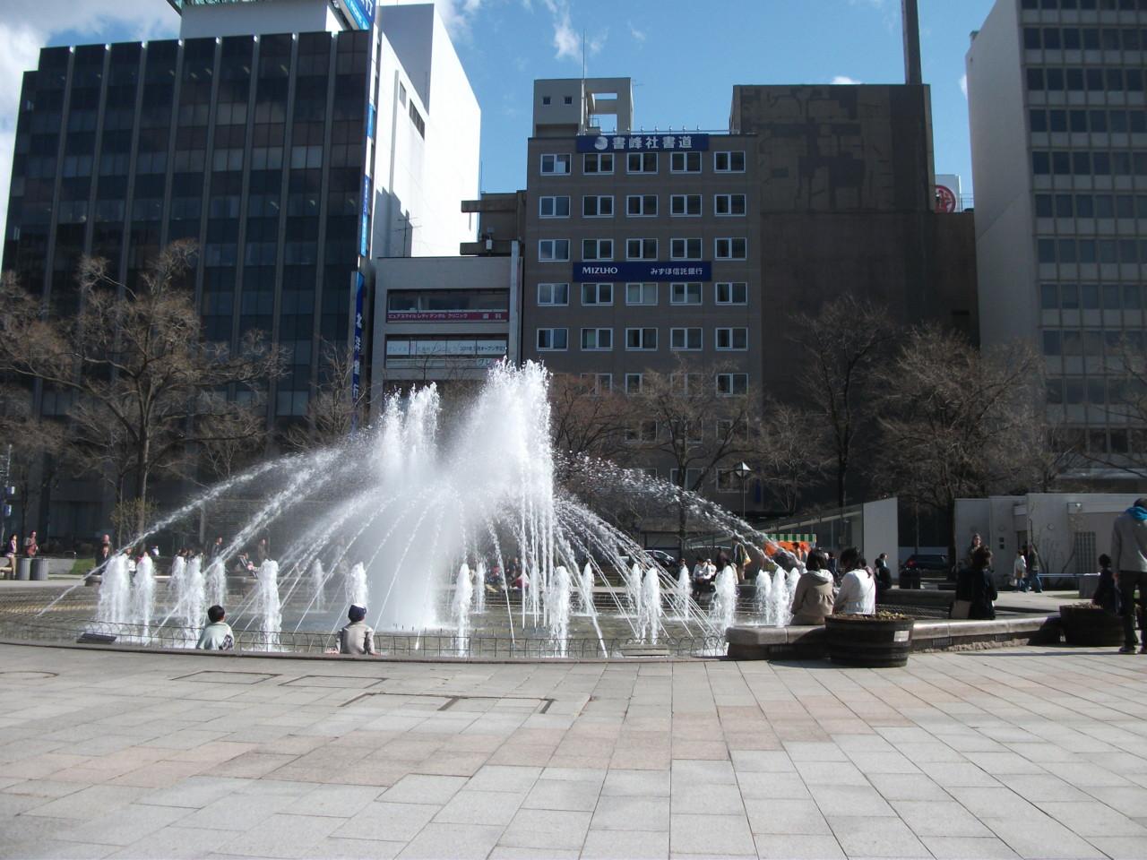 大通り公園噴水