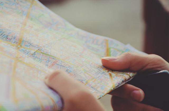 旅行先のスケジュール
