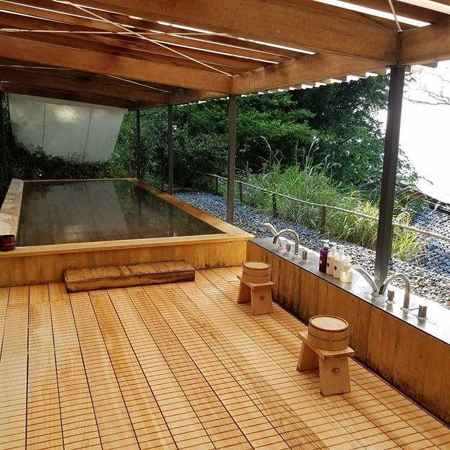界 熱海 露天風呂