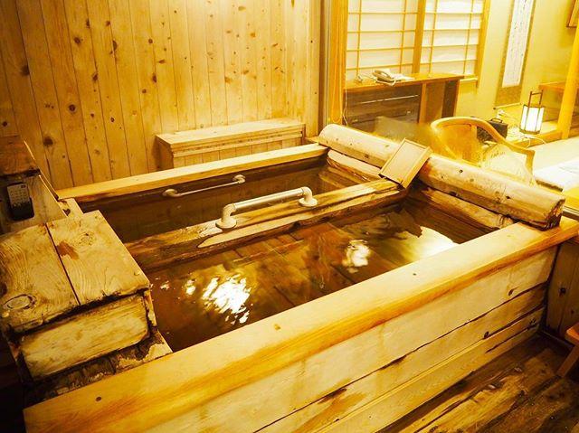 銀山荘部屋風呂