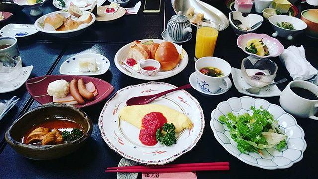 瀧見館 朝食