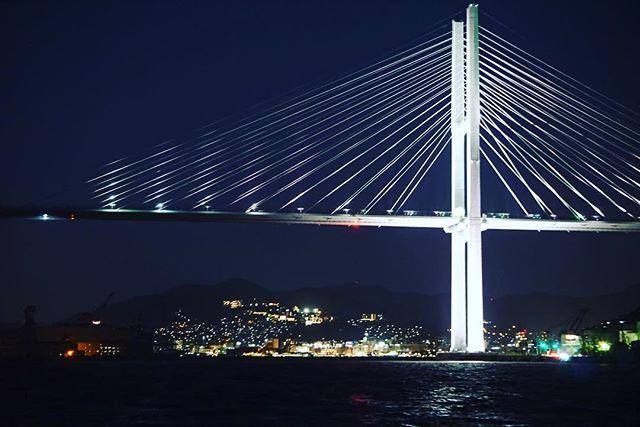 長崎夜景 女神大橋