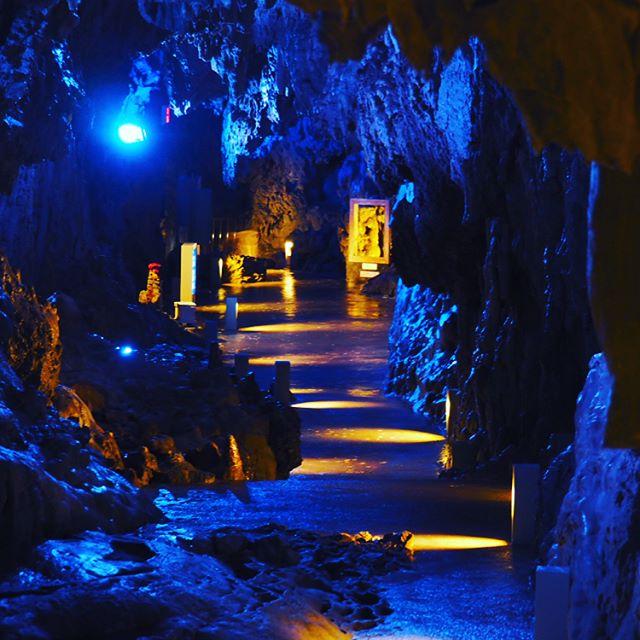 龍泉洞 通路
