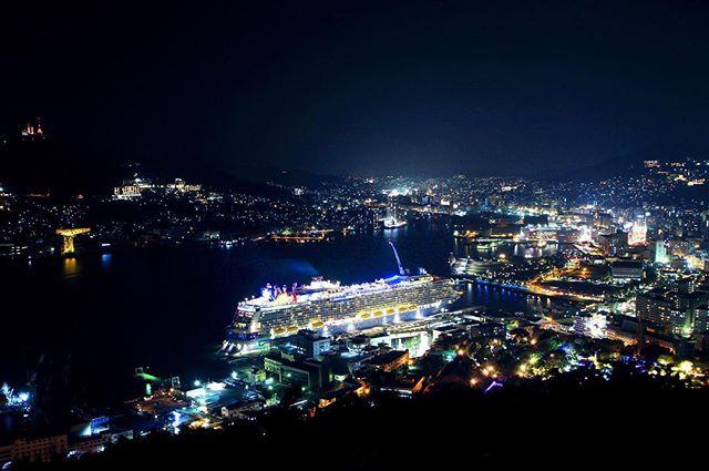 鍋冠山公園 長崎の夜景