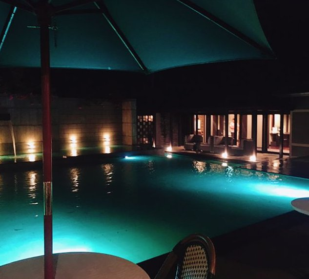 GAHAMA terrace客室プール