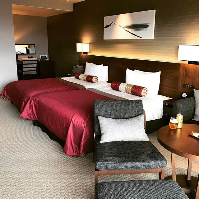 ホテルグランバッハ 客室ベッド