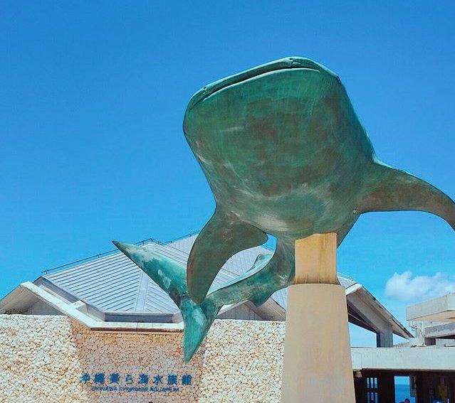 美ら海水族館 入り口