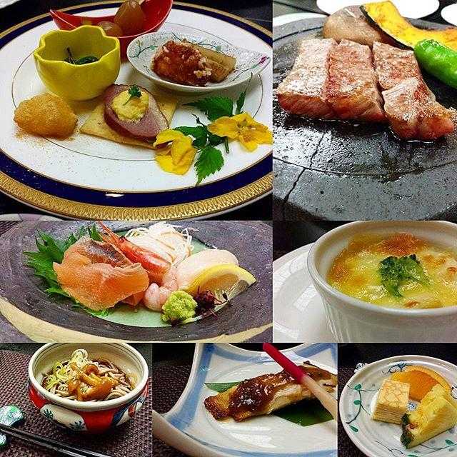 堺屋森のホテルヴァルトベルク料理