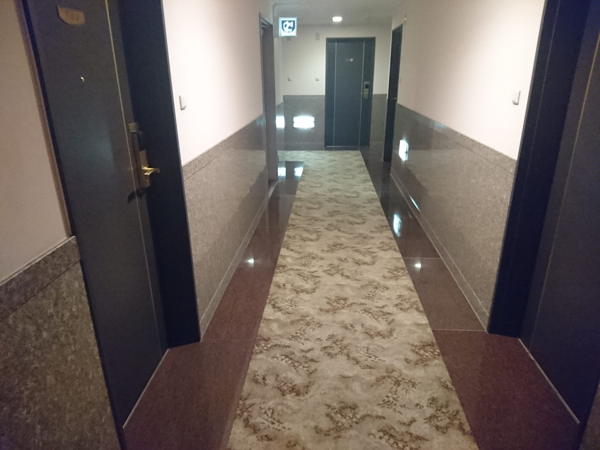 プレミアホテル-CABIN 廊下