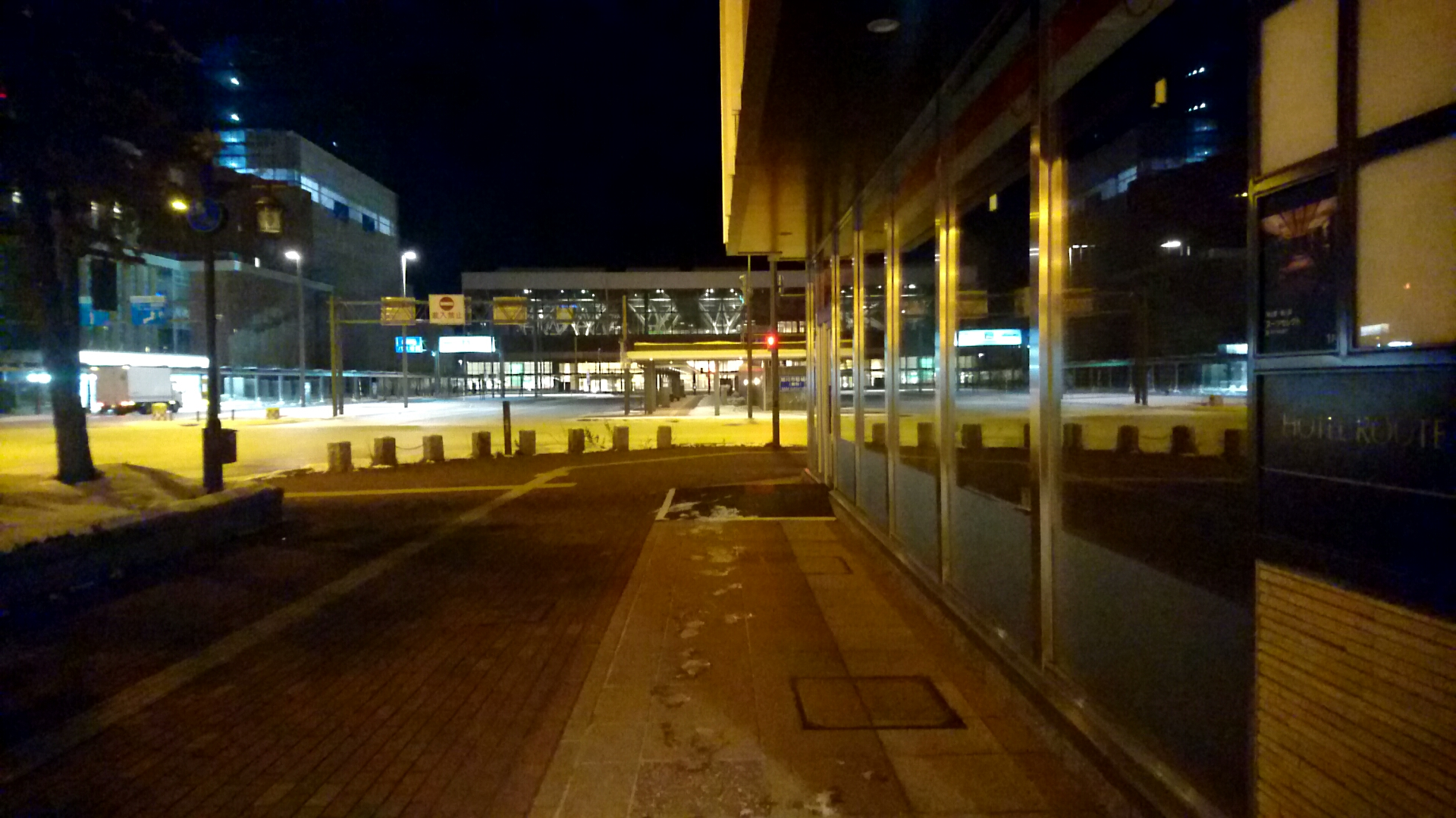 JR旭川駅の目の前