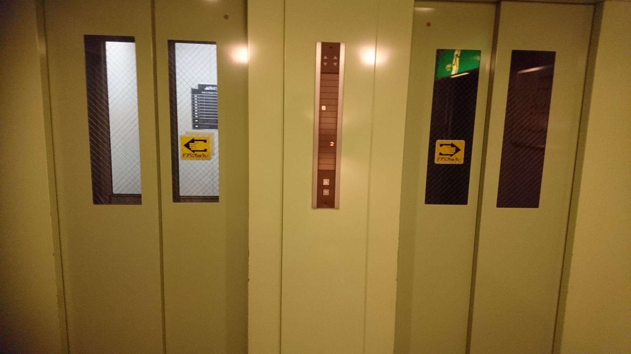 ホテル エレベーター