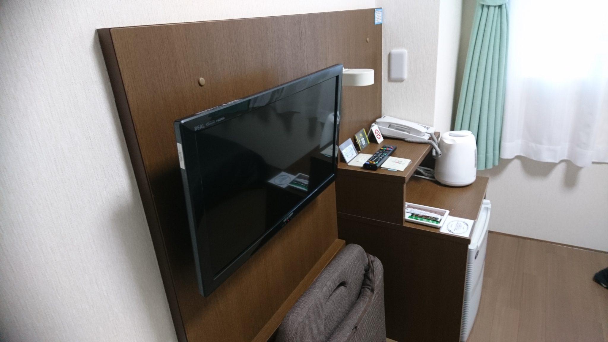 ホテル4条テレビ