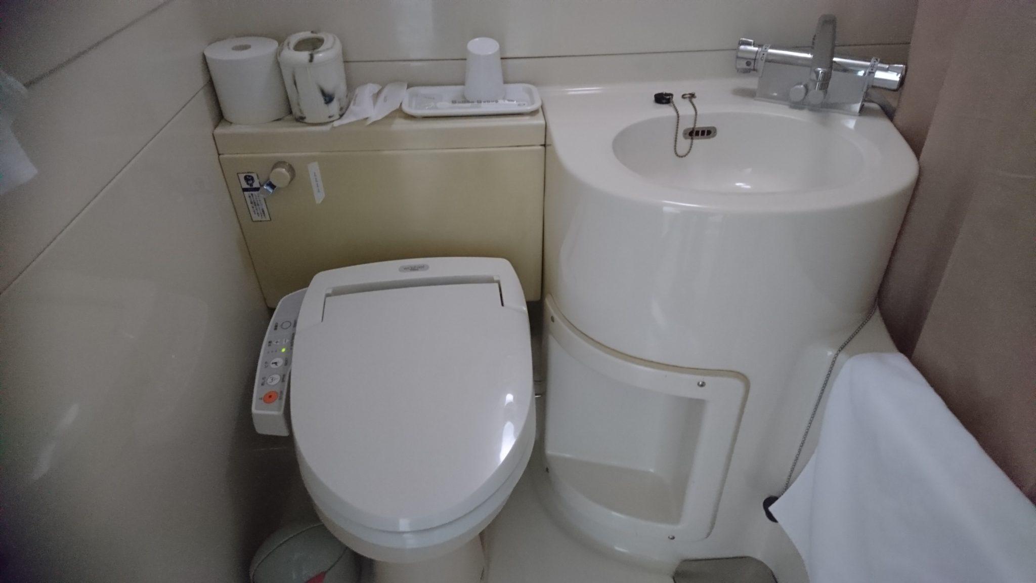 ホテル4条トイレ・風呂