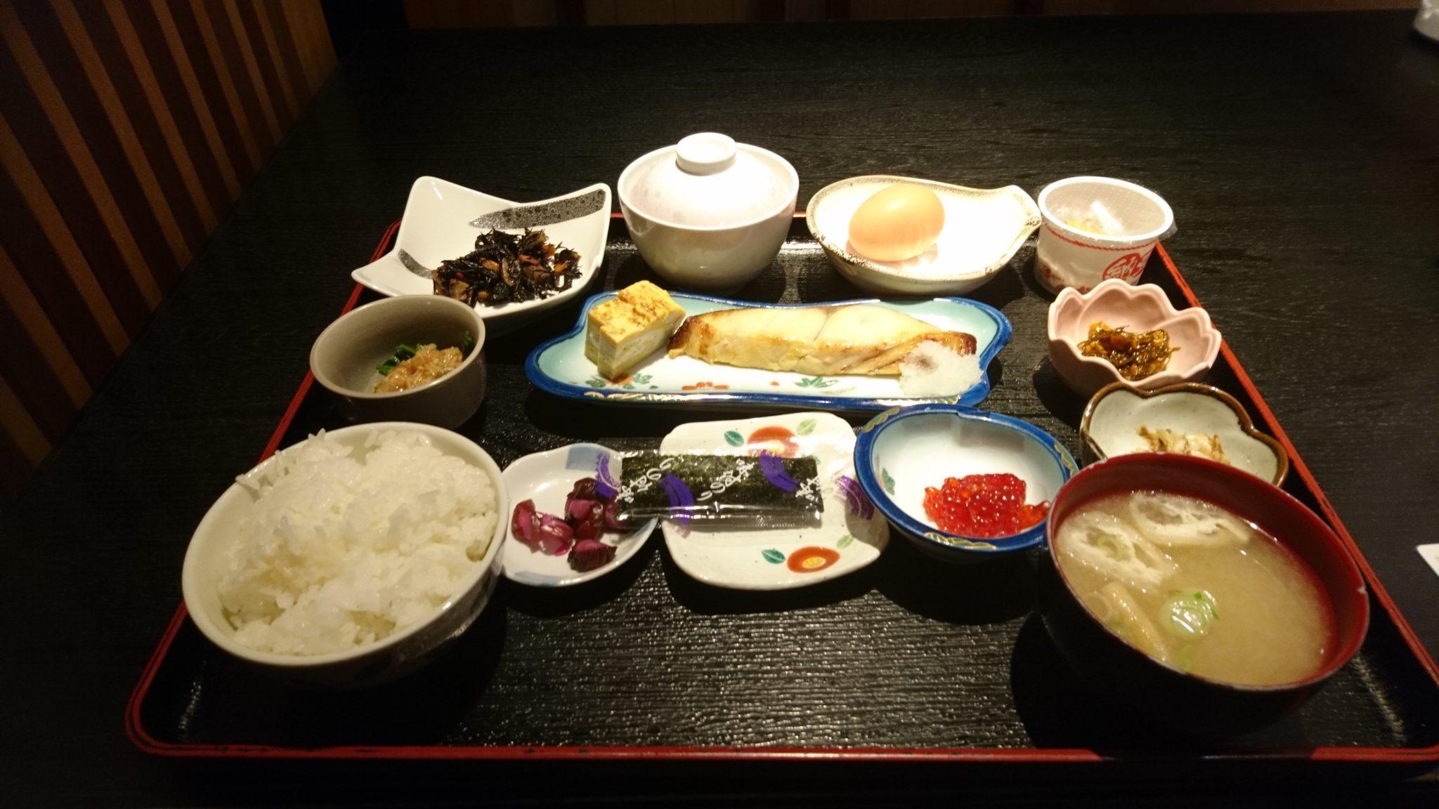ホテル4条朝食